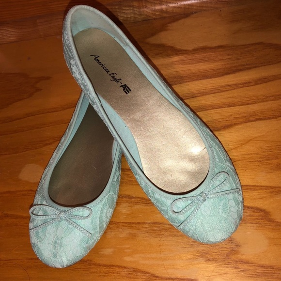 American Eagle Outfitters Shoes - Name your price American Eagle light blue flats